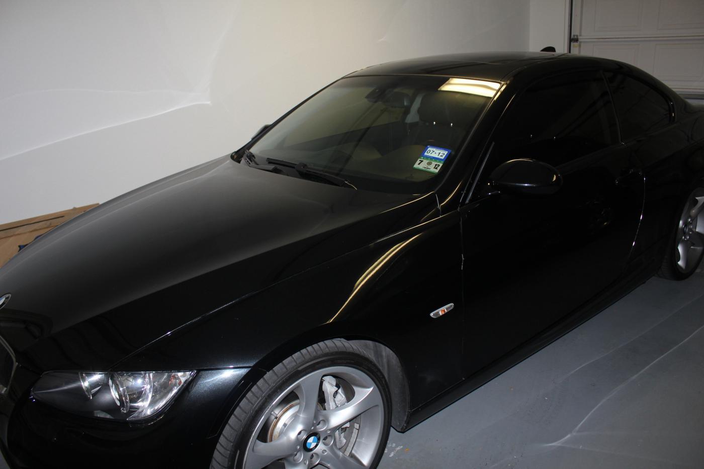 All Black BMW Emblem Or All Carbon Fiber Black BMW Emblem Pics Inside - All black bmw