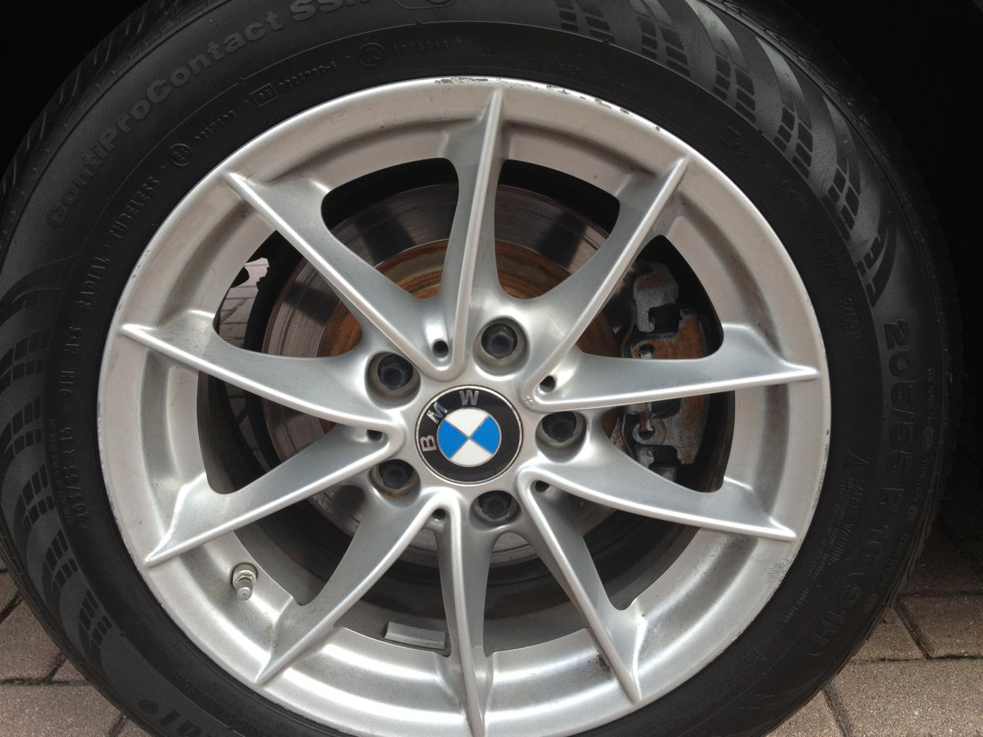 Like New 16 Inch Oem Rims And Tires 2010 Bmw 328i