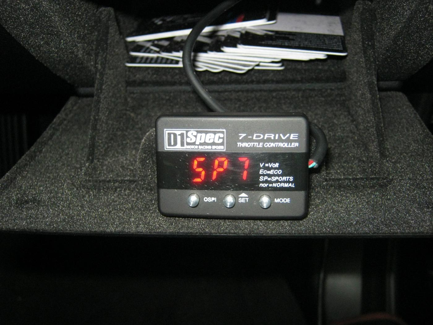 Throttle Controller Pivot 3 Drive Flat Attached Images