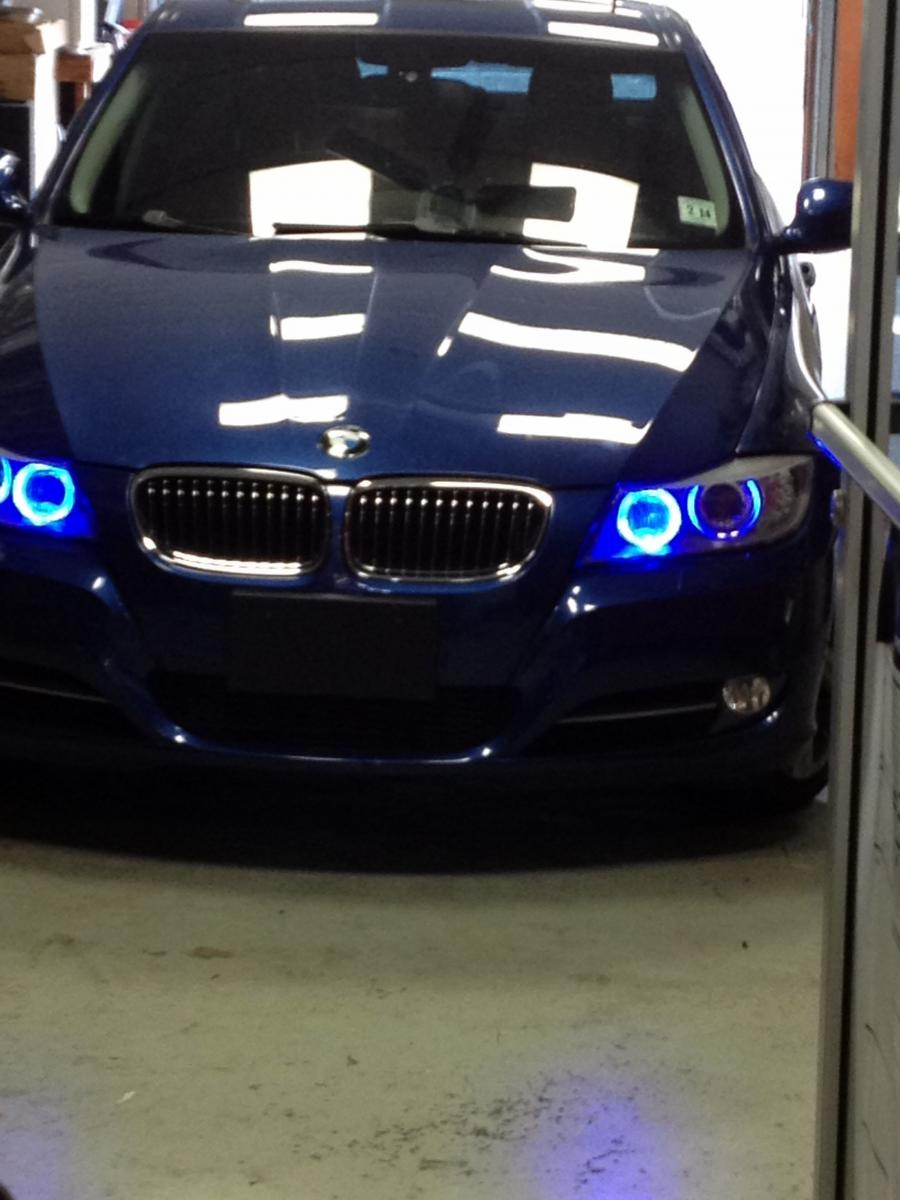 Blue Halo Angel Eye Light Must See