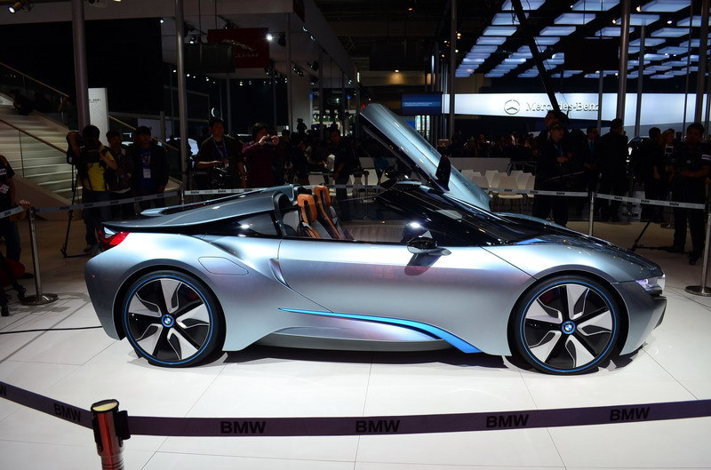 Bmw I8 Hybrid Engine To Be Built At Bmw Uk Hams Hall Engine Plant