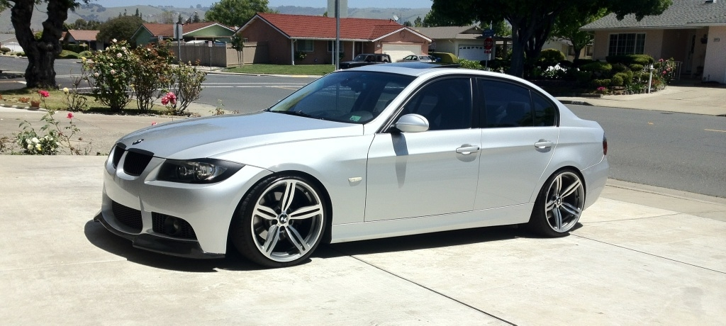 Pre Lci E90 Lowered On Authentic M6 Wheels