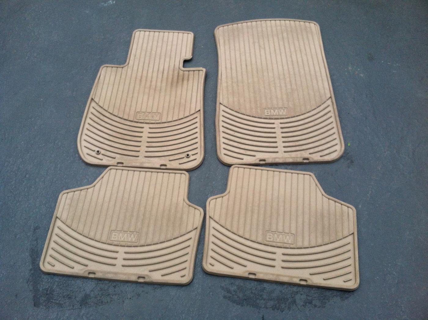Bmw rubber floor mats e90 - Attached Images