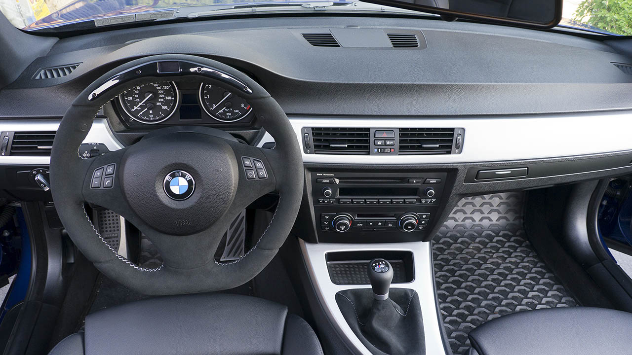 Finished my oem style interior before afters e92 lci m sport - Bmw e90 interior ...
