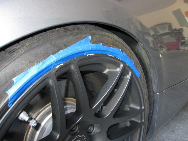 Curb Rash Repair - Matte Black Forgestar F14s