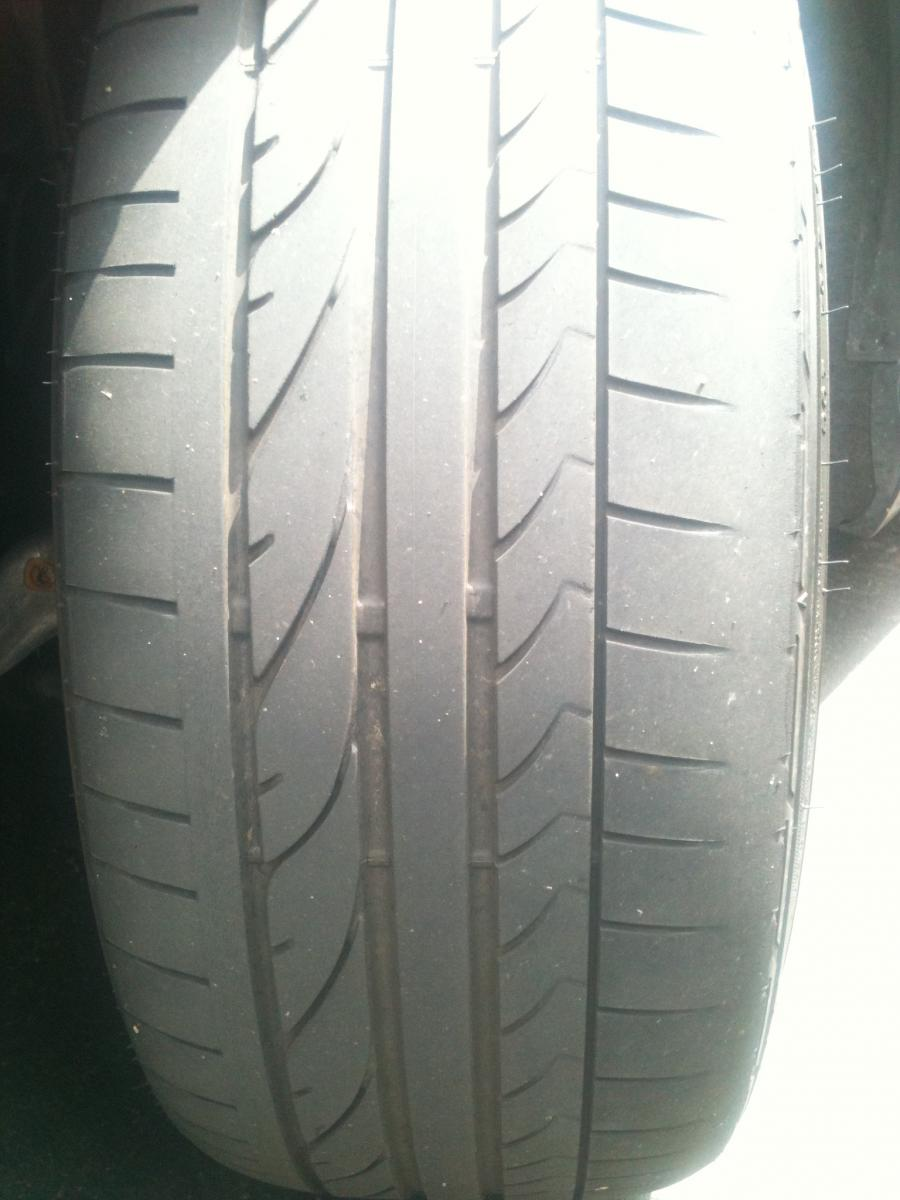 Severe Front Tire Wear On Outside Edges