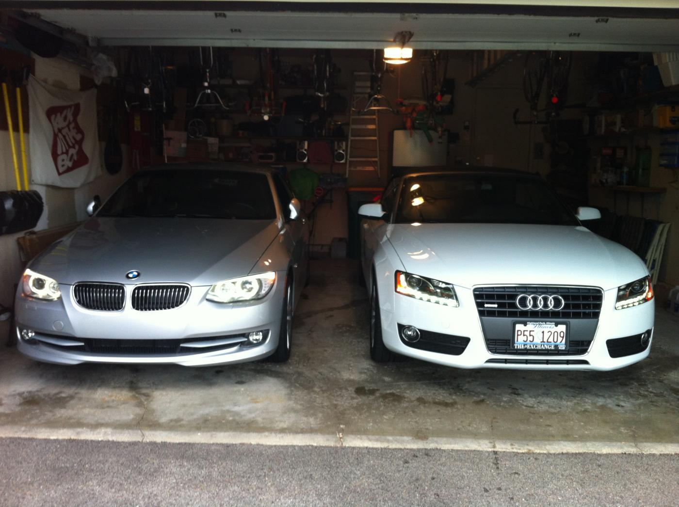 BMW 328i convertible vs Audi A5 convertible