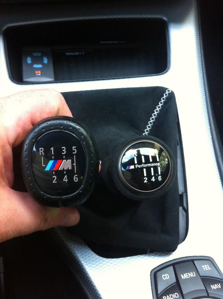New BMW Performance Shift Knob