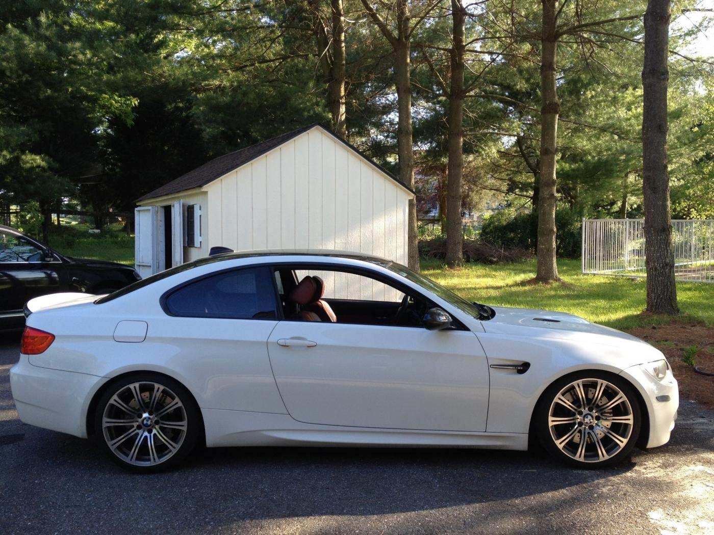 2008 Bmw M3 Alpine White On Fox Red Interior Extended