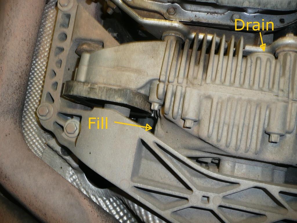 Transfer Case Fluid 328xi Early 2007