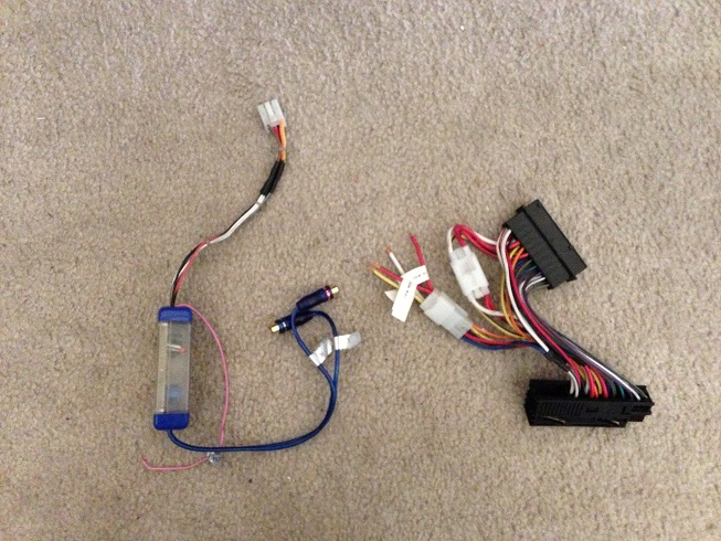fs technic harness for subwoofer sub amp install attached images