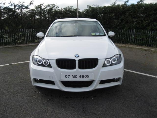 Bmw E90 White 335d Rep