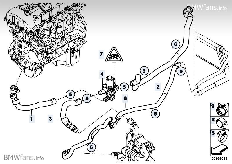 Bmw Radiator Diagram Bmw Free Engine Image For User
