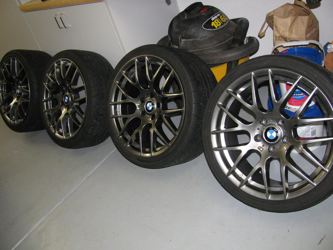 "FS: 19"" ZCP Style 359 wheels with Yokohamas Advan AD08 and TPMS"