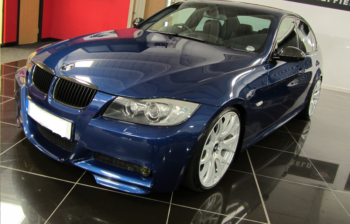 bmw e90 e91 pre lci facelift angel xenon headlights complete. Black Bedroom Furniture Sets. Home Design Ideas