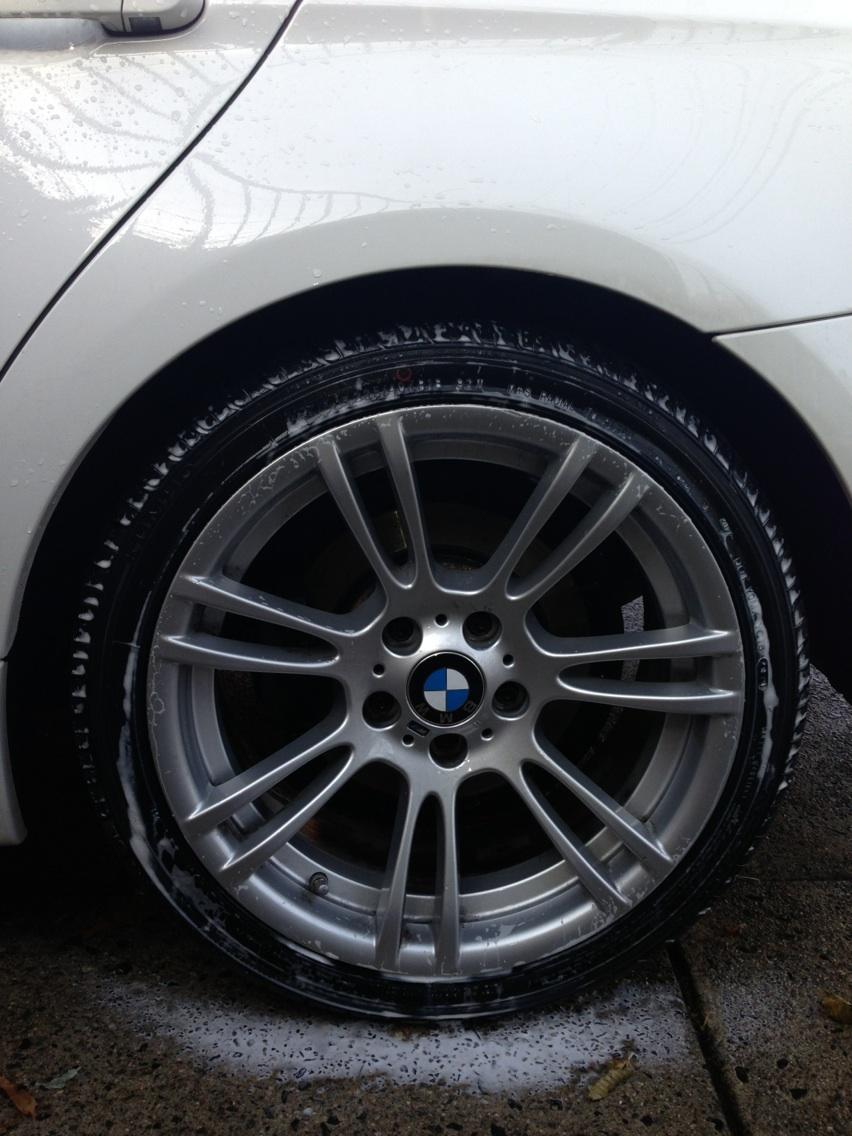 Bmw Style 270m Wheels On An E90 Xi