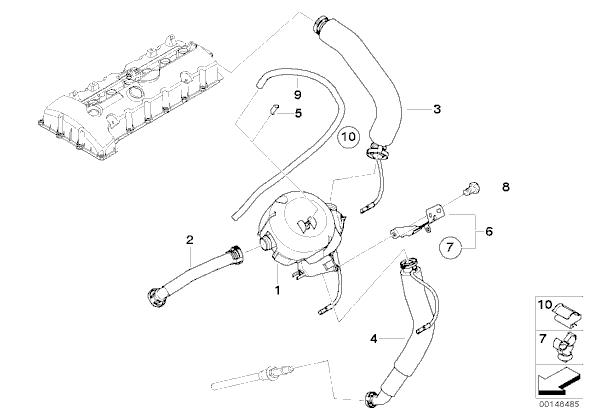 N52 Oil Seperator