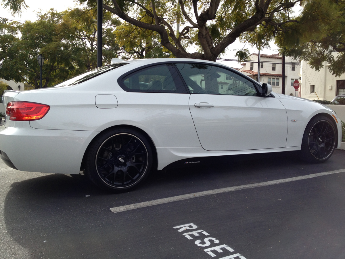 F30 M Performance Decal On E92