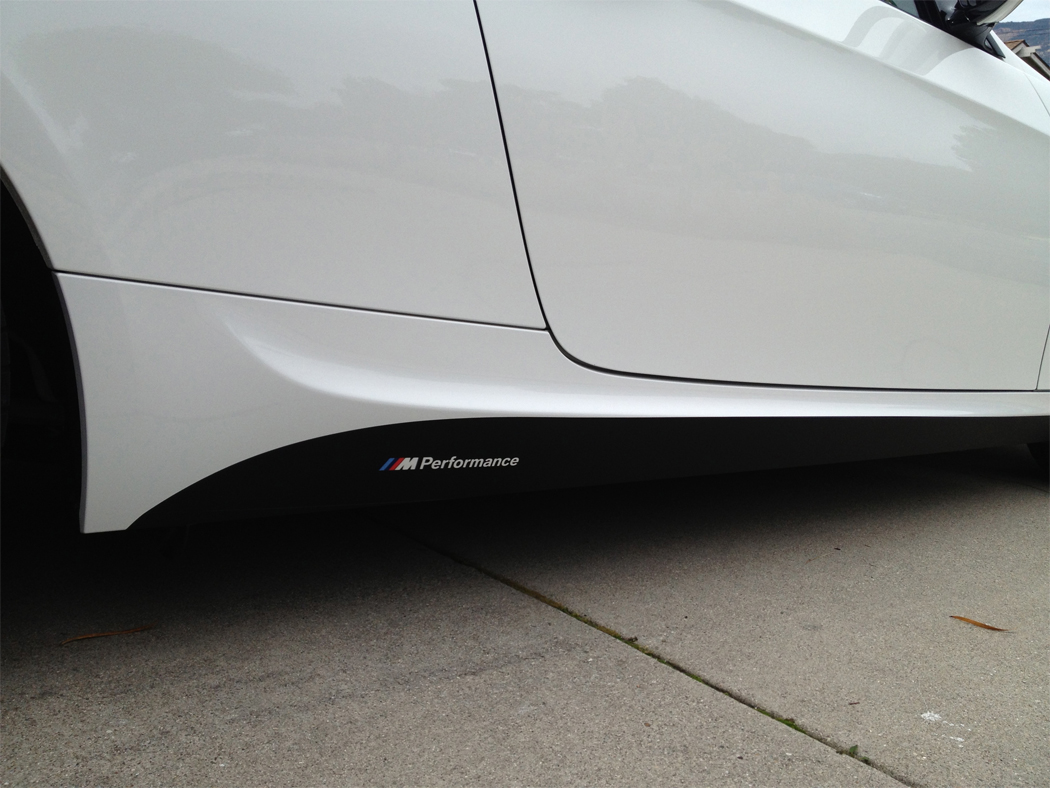 F M Performance Decal On E - Bmw rocker panel decals