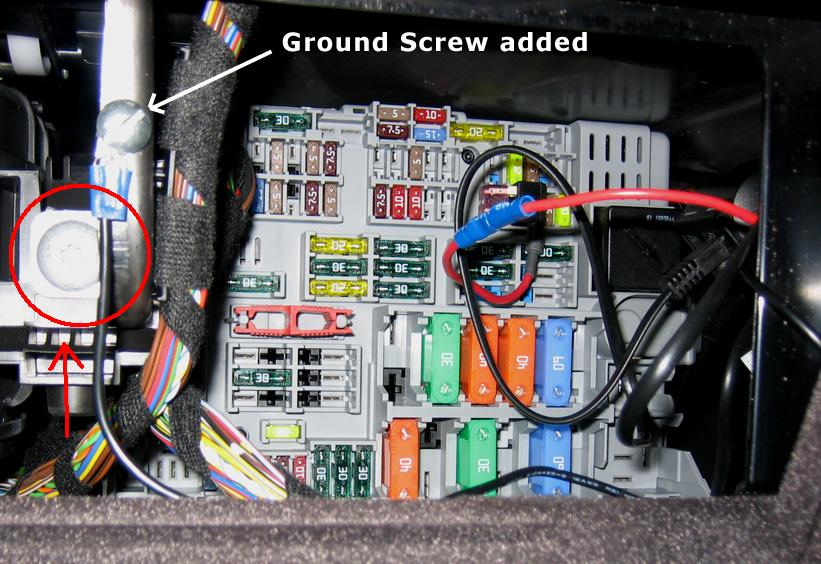 Torx Screw Size In Fuse Box
