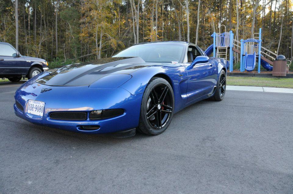 Modified C6 Corvette >> FS: 2002 Corvette ZO6 Electron Blue Modified