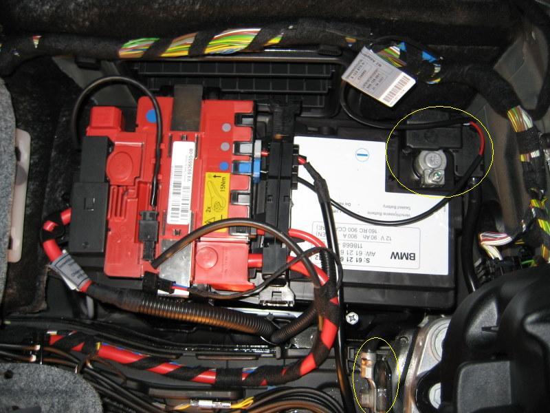 2007 bmw x5 battery location  2007  free engine image for