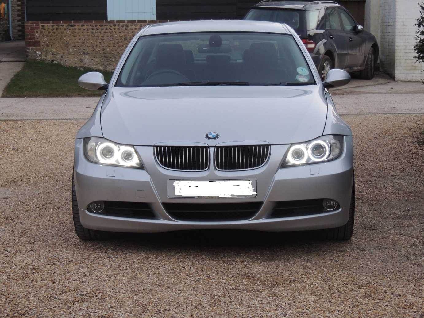 2006 Pre Lci E90 Angel Eyes Led Conversion
