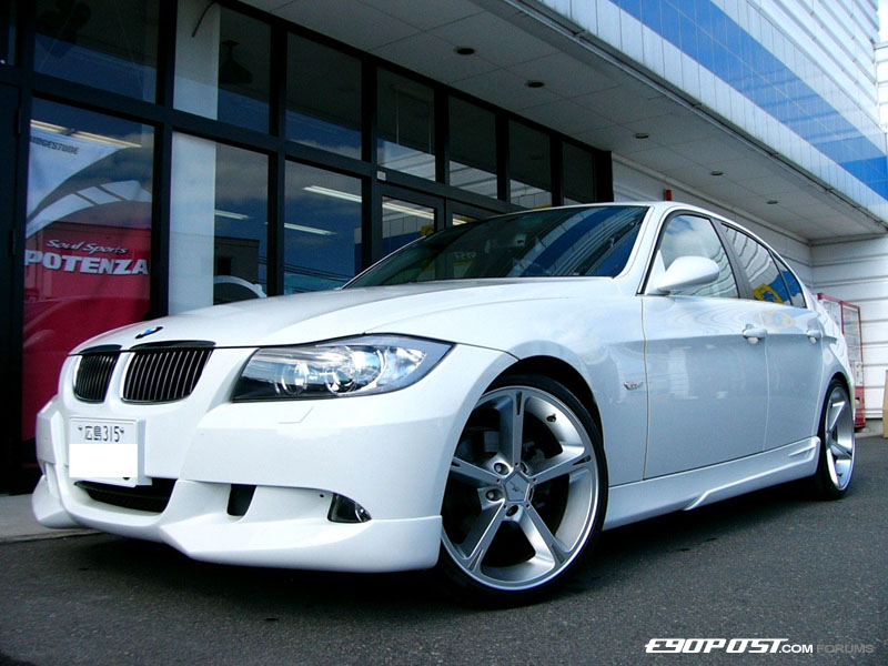 White E90 With Full On Acs Kit And Wheels From Where You Guessed It