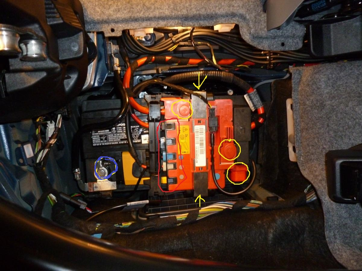 E93 335i battery replacement