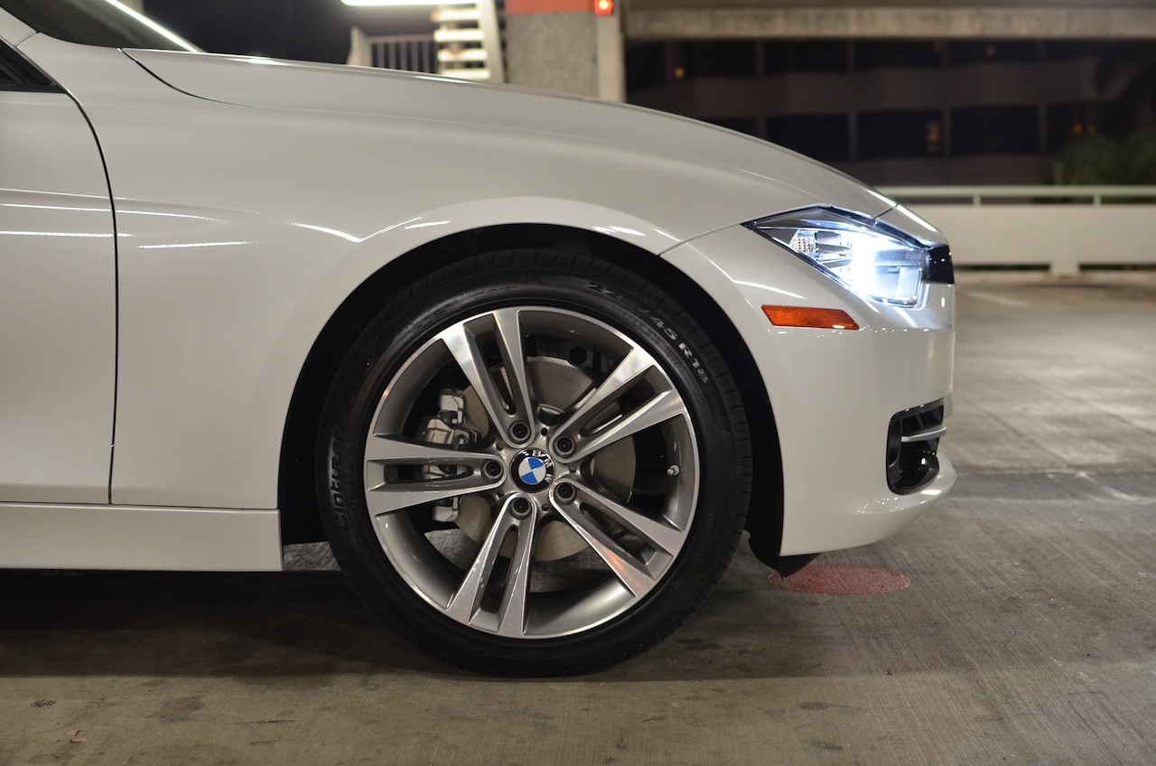 Brand New 2013 F30 18 Inch Sport Line Rims And Run Flat Goodyear Tires