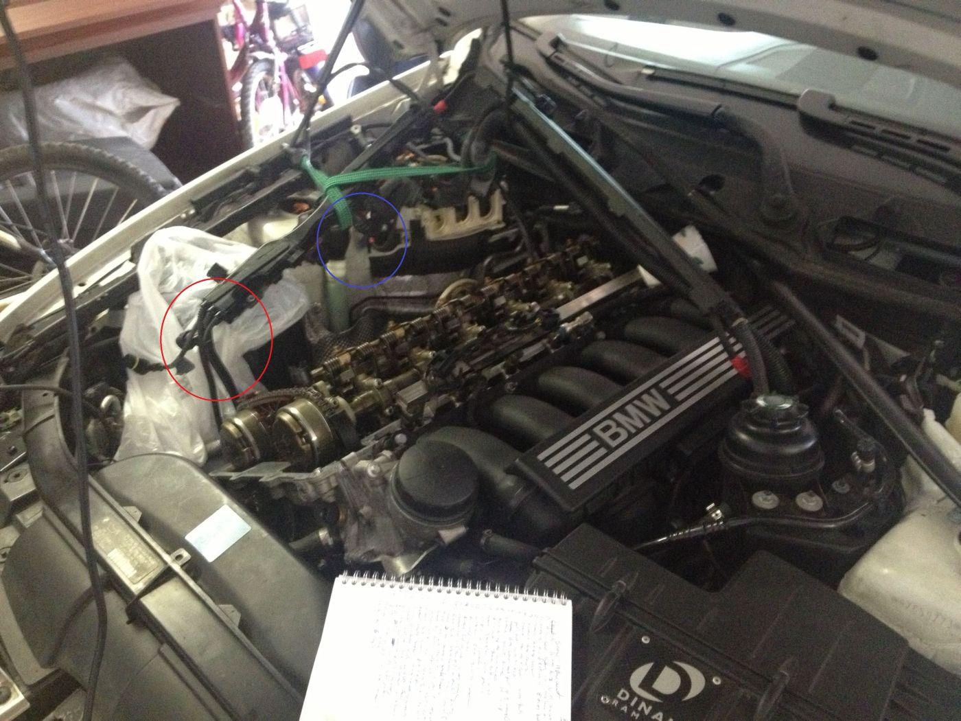 Valvetronic, eccentric shaft sensor: plausibility - BMW 3