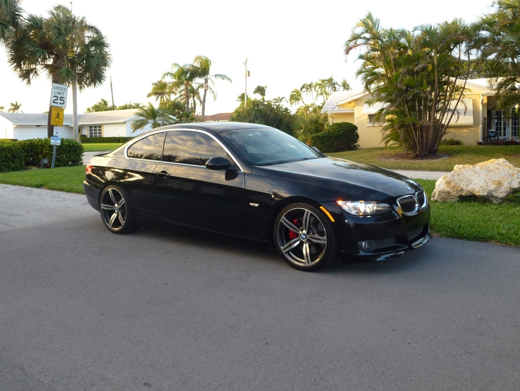 FS BMW I Coupe BlackRed - Bmw 335i 2008 coupe