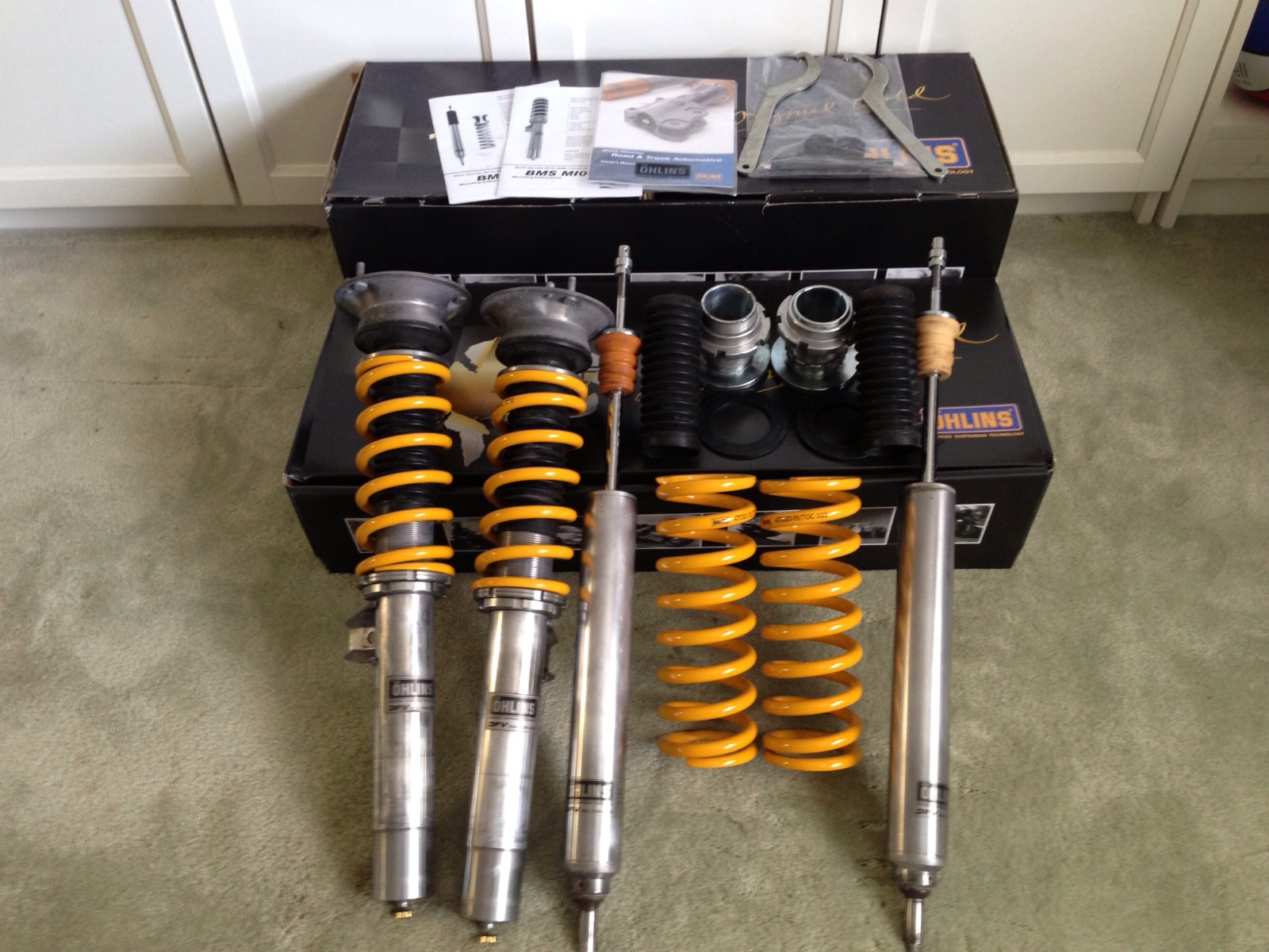 –hlins M100 Road and Track Coilover