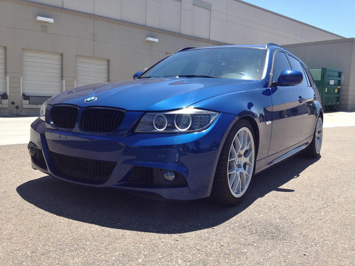 For Sale 2011 E91 6mt M Sport Lemans Blue