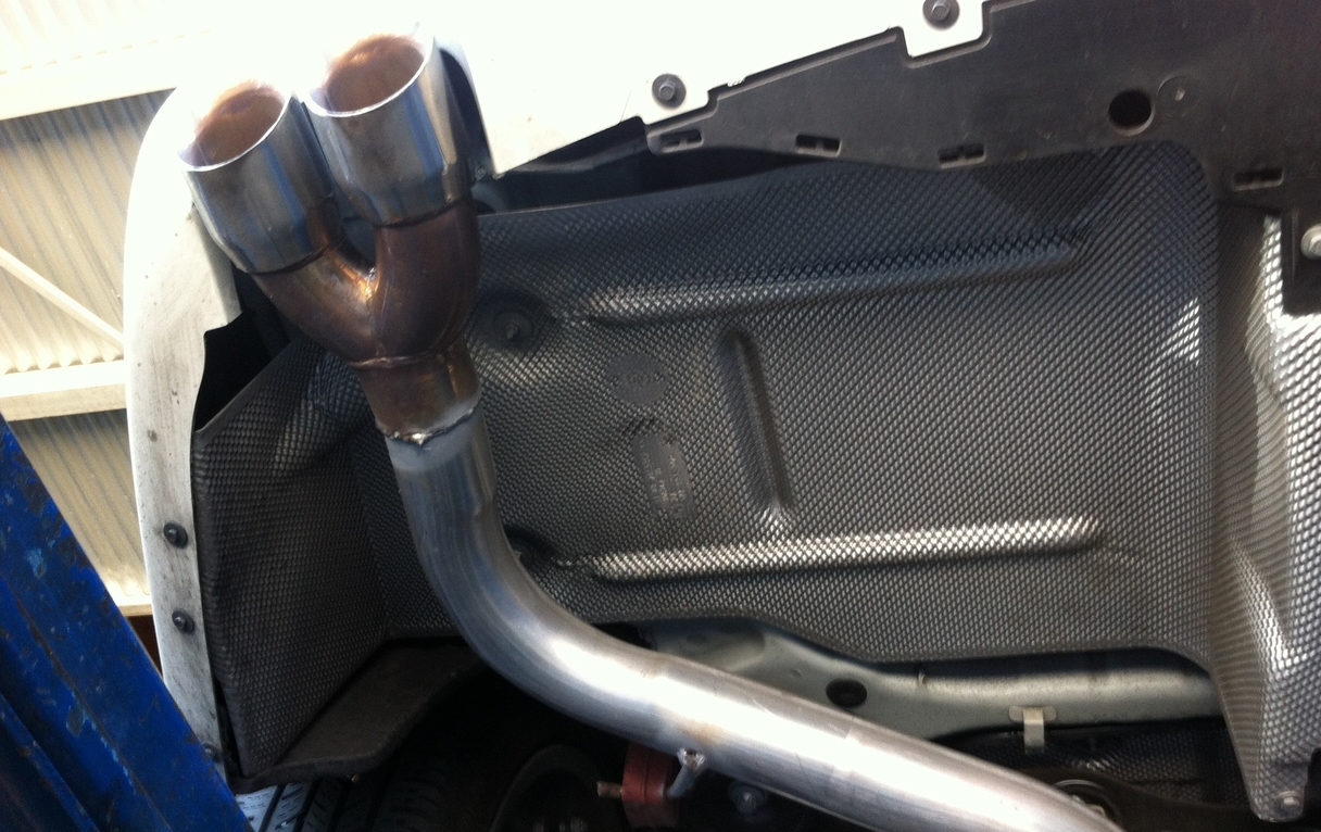Updated Pics Fs E90 Res Back Muffler Delete With Tips