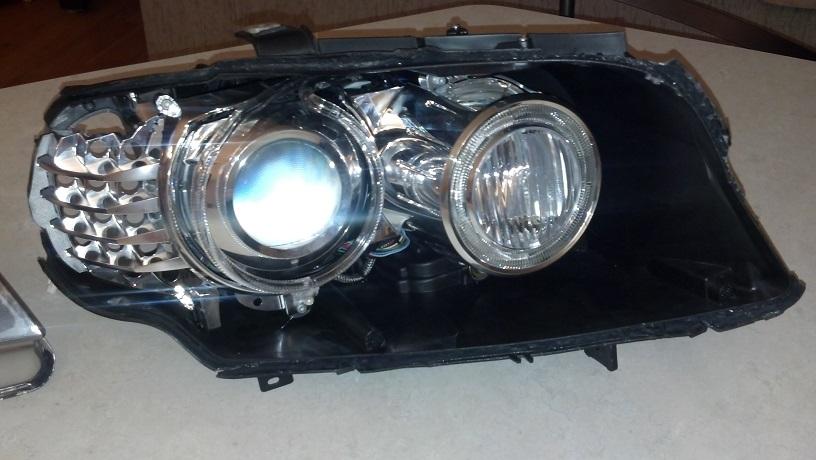 Fs E90 Rh Lci Bixenon Adaptive Headlight For Parts