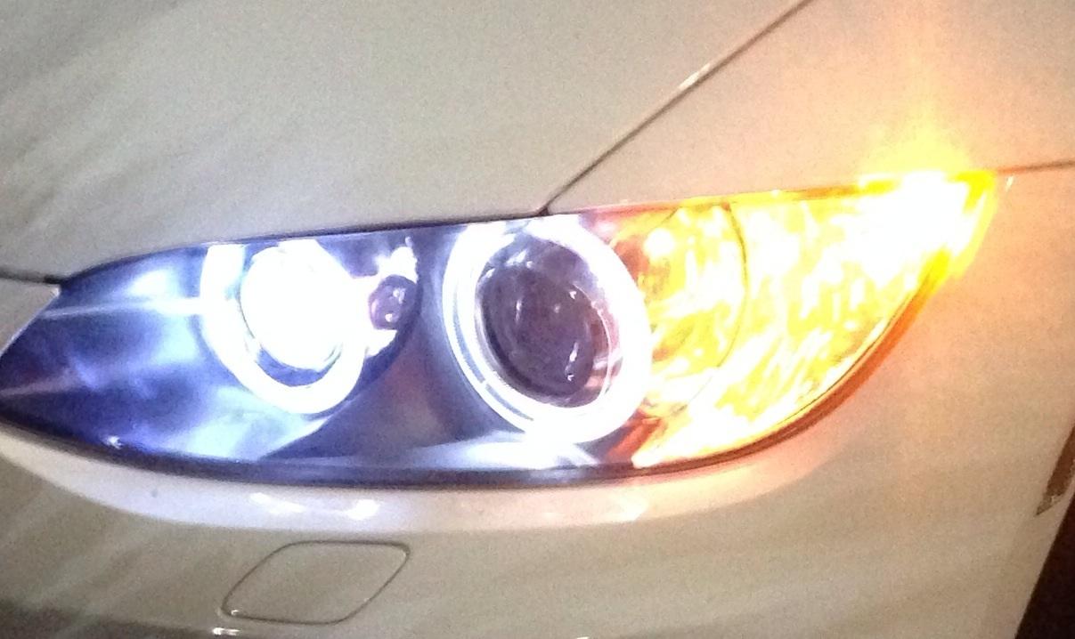 Osram Chip H8 Angel Eyes Even Light Ouput For BMW E92 E93 E90 X5 X6 E60 White