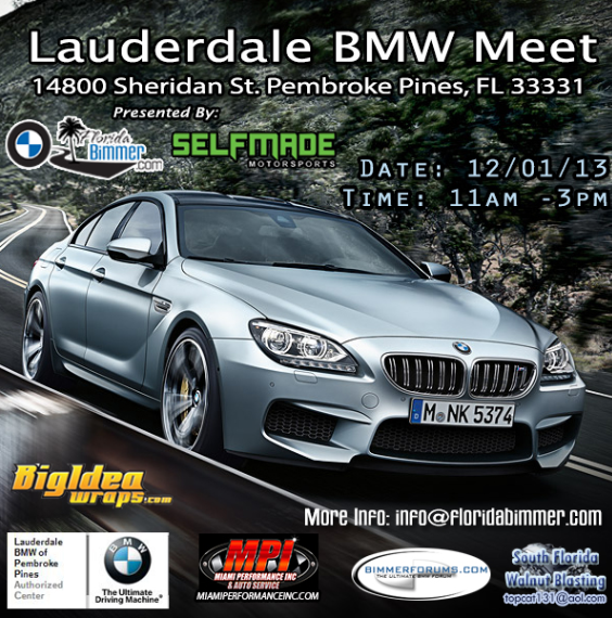 Lauderdale Bmw Meet Presented By Florida Bimmer 12 01 13 N54tech Com International Turbo Racing Discussion