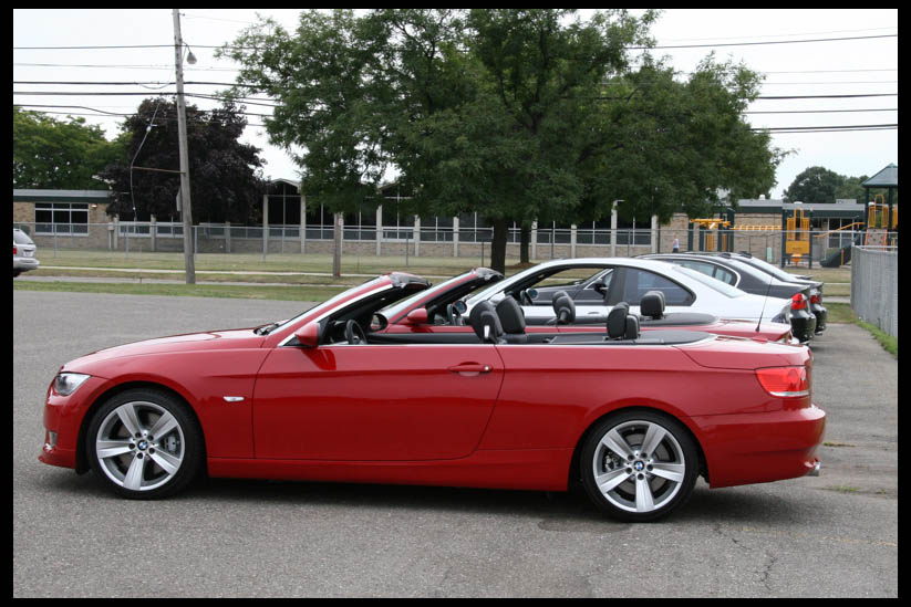 Bmw I Convertible Red Interior Best Accessories Home - 2010 bmw 335i convertible