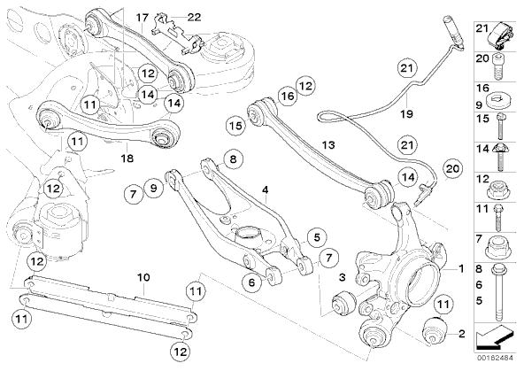 lower control arms and bushes