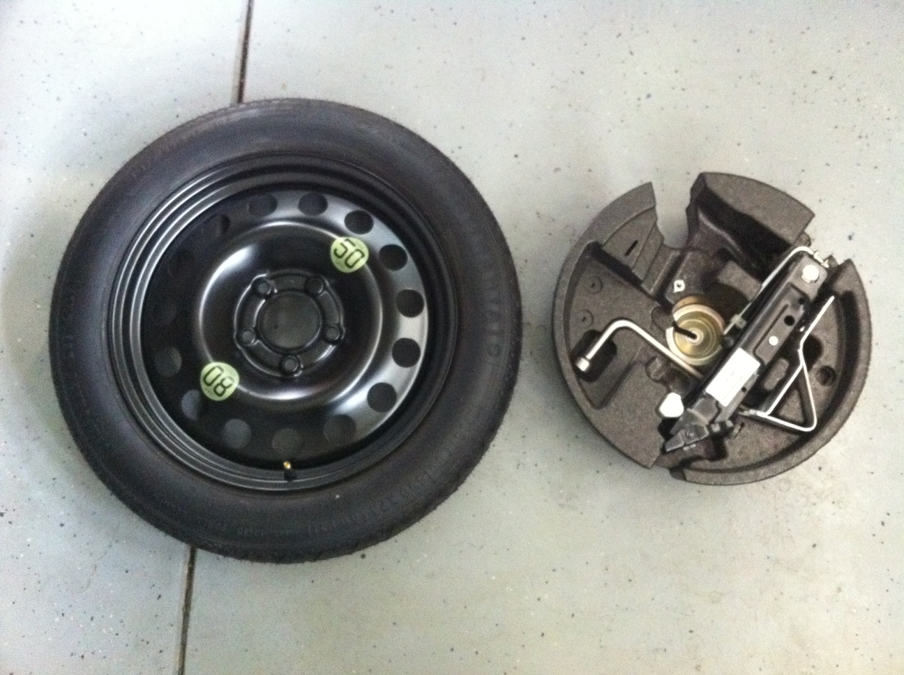 Bmw E90 E60 Spare Tire Kit