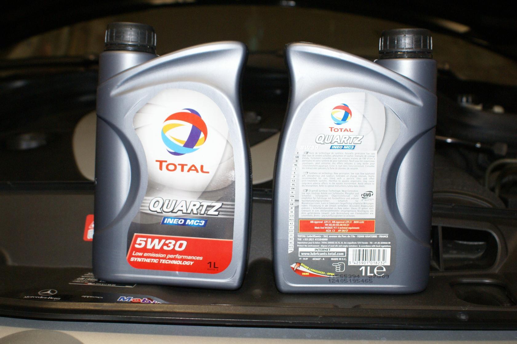 Bough Some Oil Total Quartz Ineo Mc3 5w30