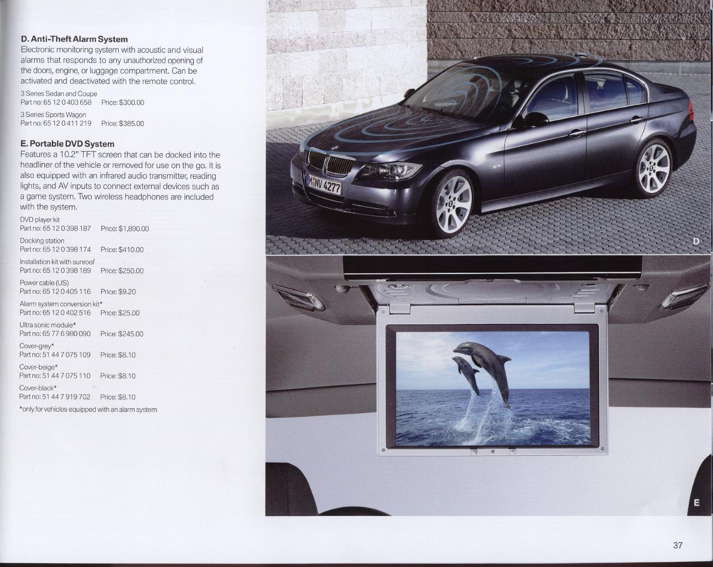 the new bmw accessories catalog. Black Bedroom Furniture Sets. Home Design Ideas