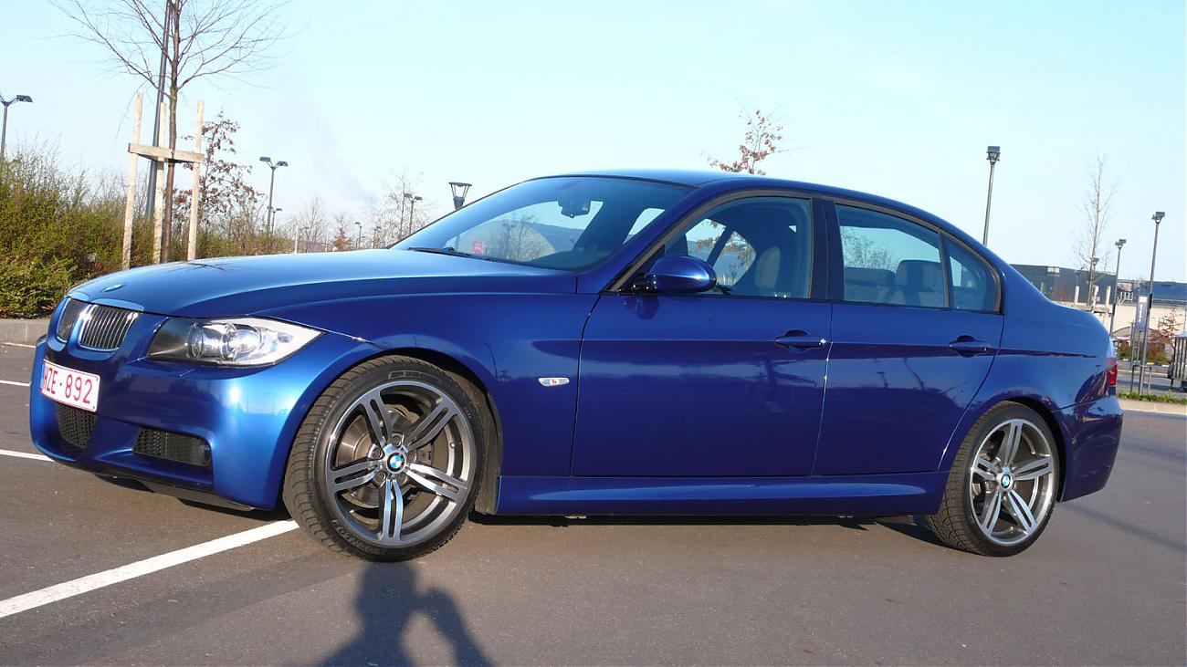 winter configurations m6 wheels 18 on e90 pack m lemans blue. Black Bedroom Furniture Sets. Home Design Ideas