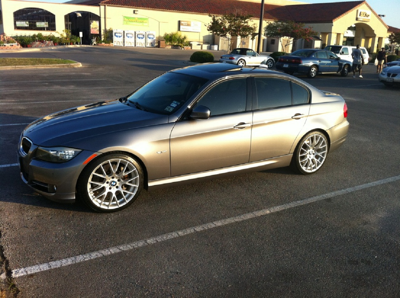 335i lci space grey with m3 competition rims replicas. Black Bedroom Furniture Sets. Home Design Ideas