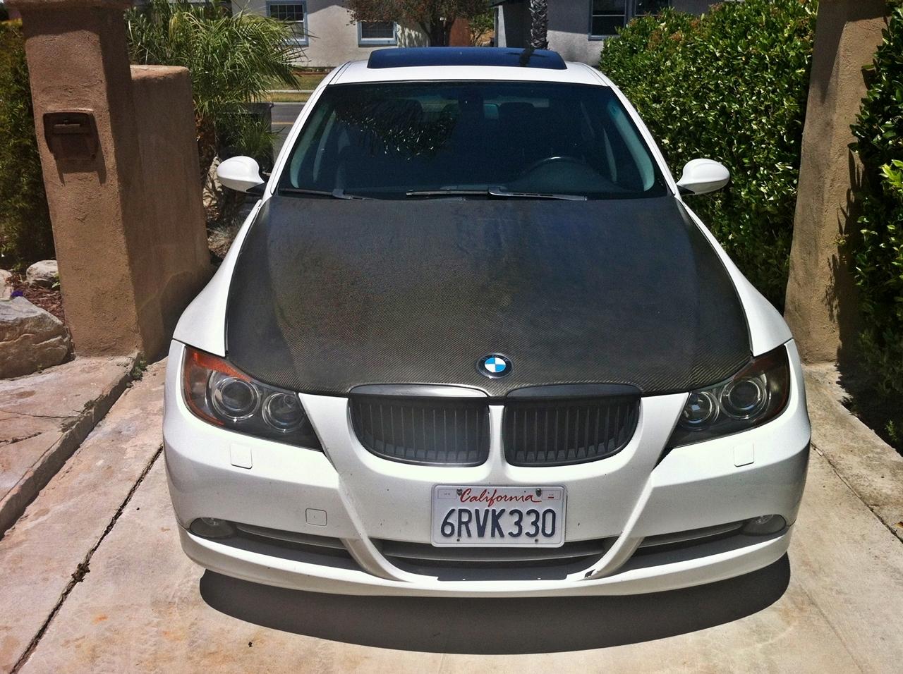 BMW 335D For Sale >> e90 Carbon Fiber hood for sale or trade for a regular white hood San Deigo area