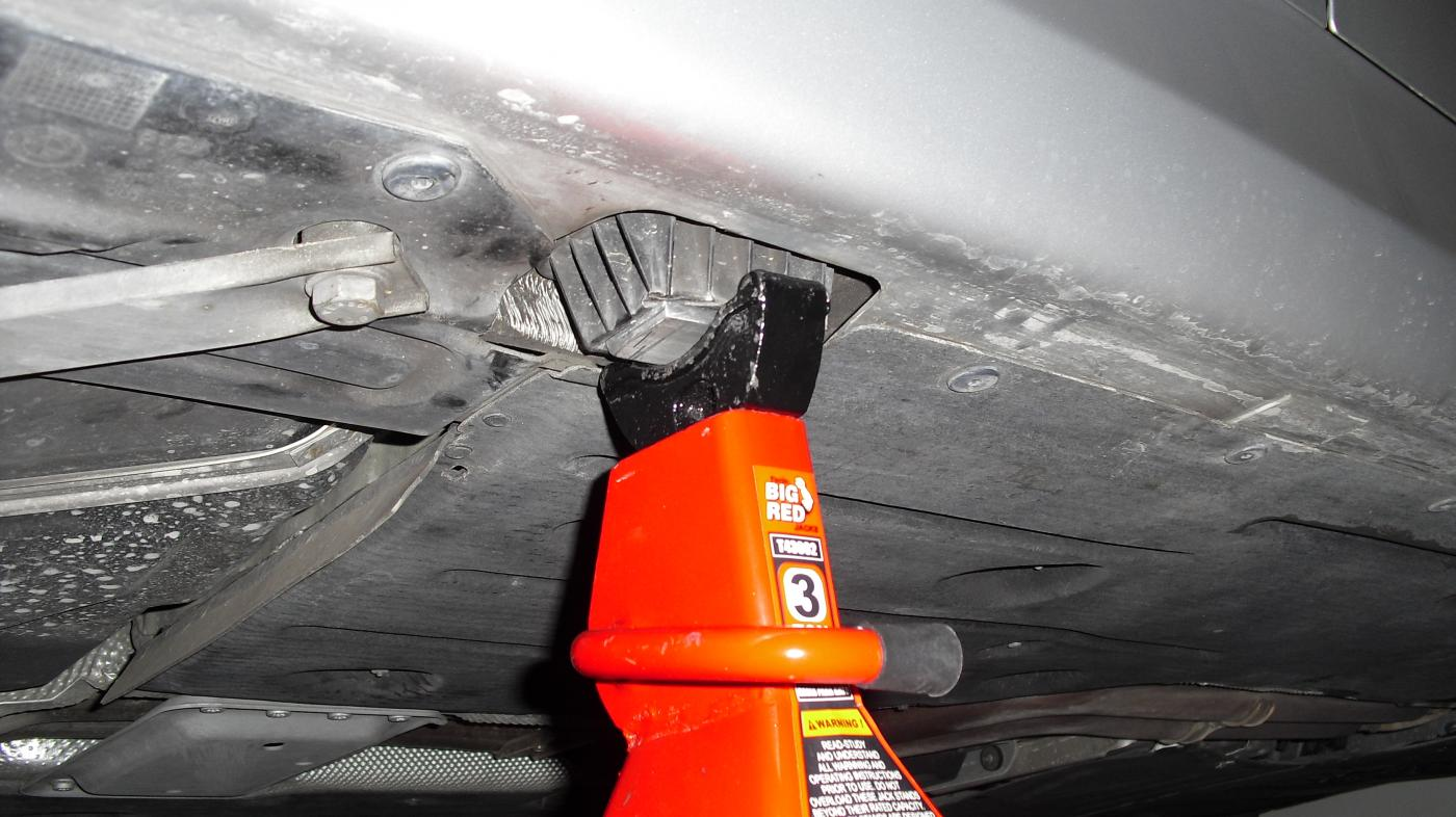 Is This A Safe E91 Rear Jack Point