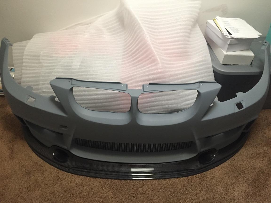 Updated E90 D10 Build Thread 1m Front Bumper Updated