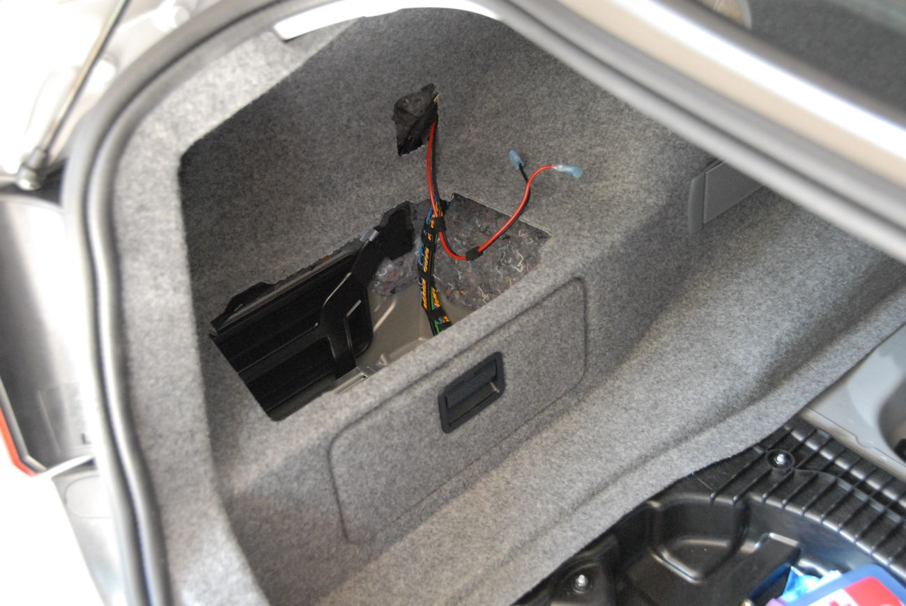 My E90 Project Luggage Compartment Part 3 The Whole