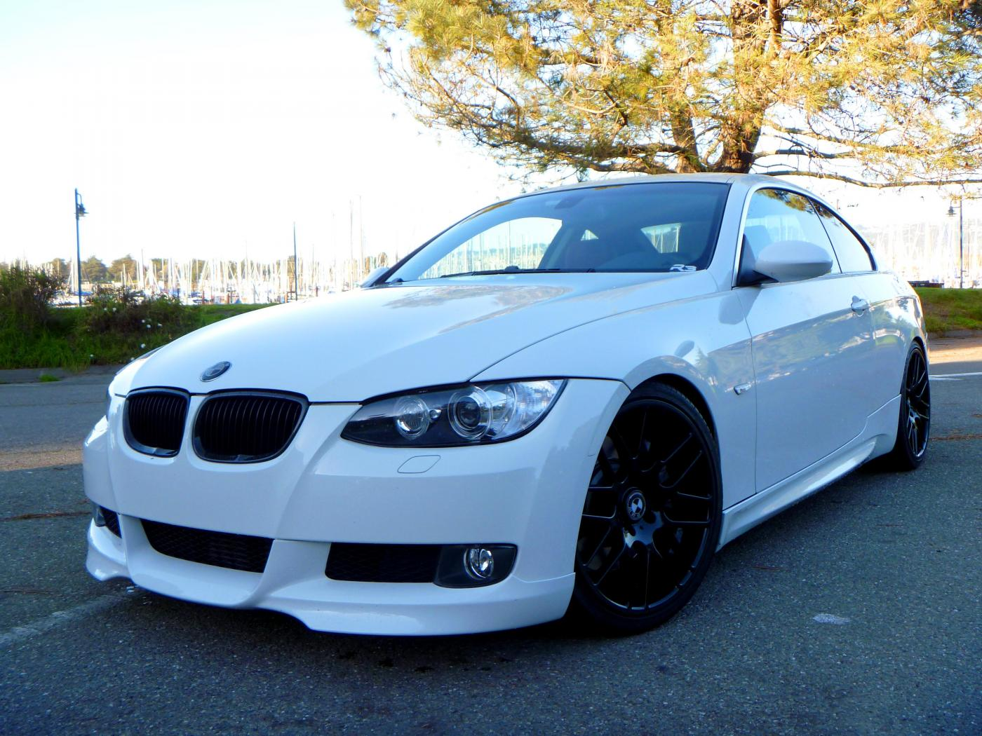 Rare 335i Bmw Coupe White W Red Leather